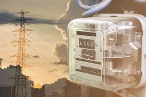 contatore elettrico gas